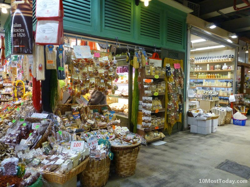Best Indoor Markets In The World: Mercato Centrale, Florence