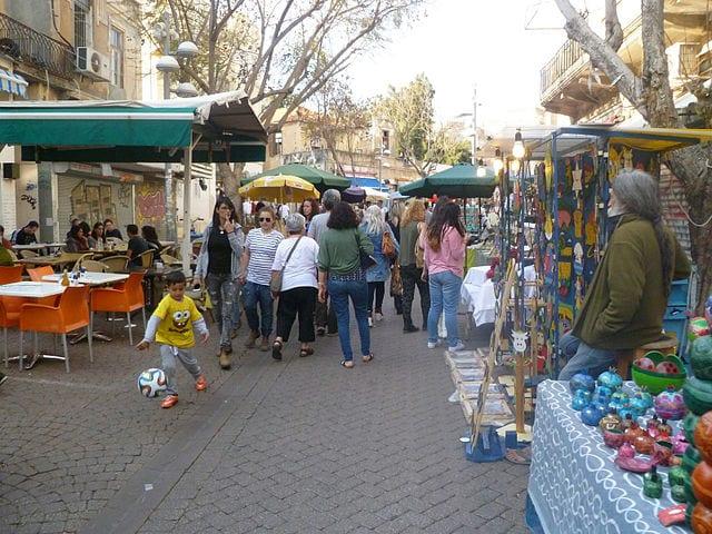 Best Attractions In Tel Aviv: Nachlat Benyamin