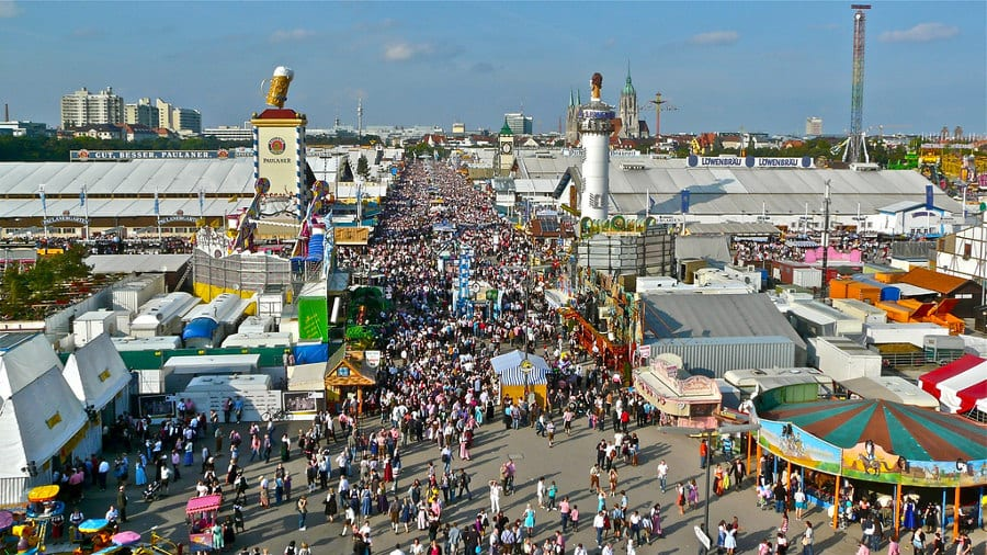 Annual World Festivals Worth The Trip: Oktoberfest