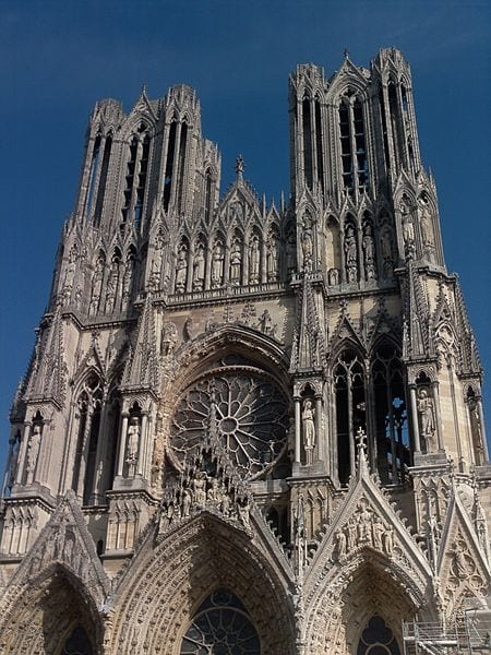 Most Amazing Medieval Cathedrals In Europe: Reims Cathedral