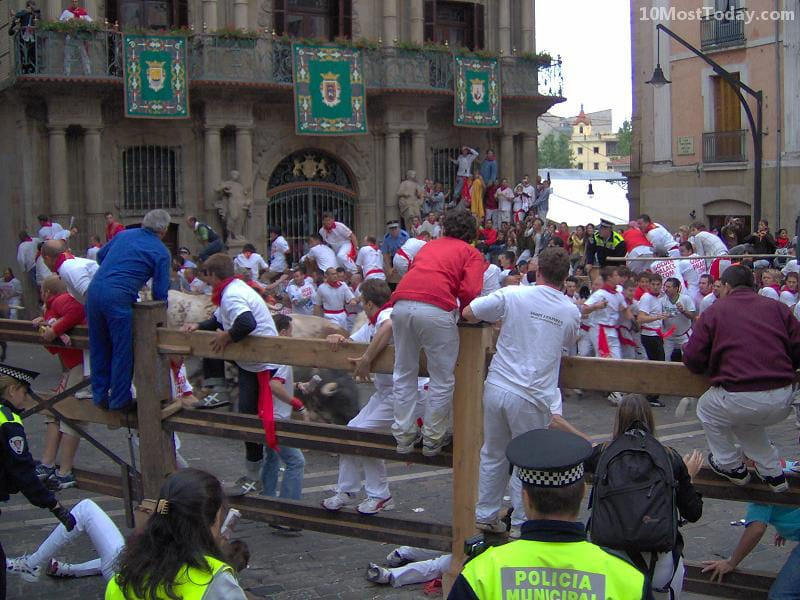 Annual World Festivals Worth The Trip: San Fermin (Running Of The Bulls)