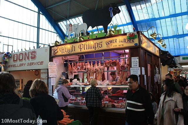 Best Indoor Markets In The World: Swansea Market, Swansea, Wales