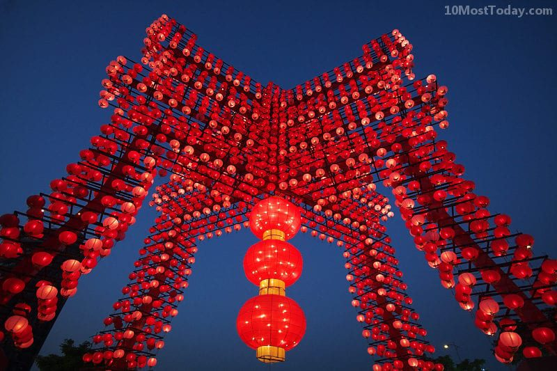 Annual World Festivals Worth The Trip: Taiwan Lantern Festival