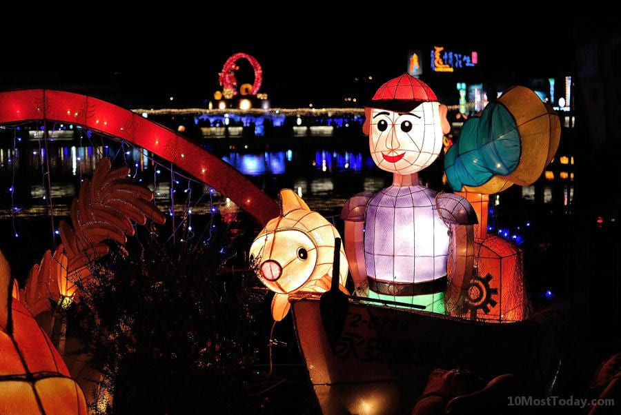 Annual World Festivals Worth The Trip: Taiwan Lantern Festival