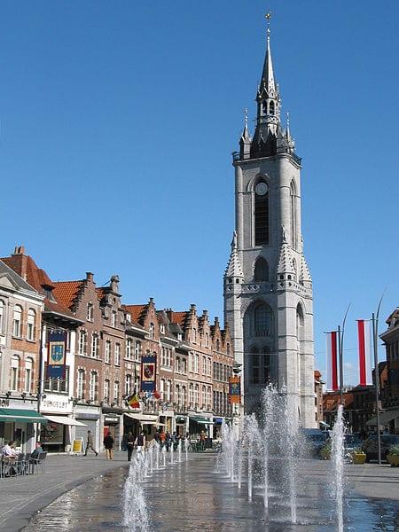 Amazing Bell Towers From Around The World: Belfry of Tournai, Belgium