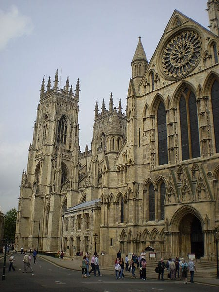 Most Amazing Medieval Cathedrals In Europe: York Minster