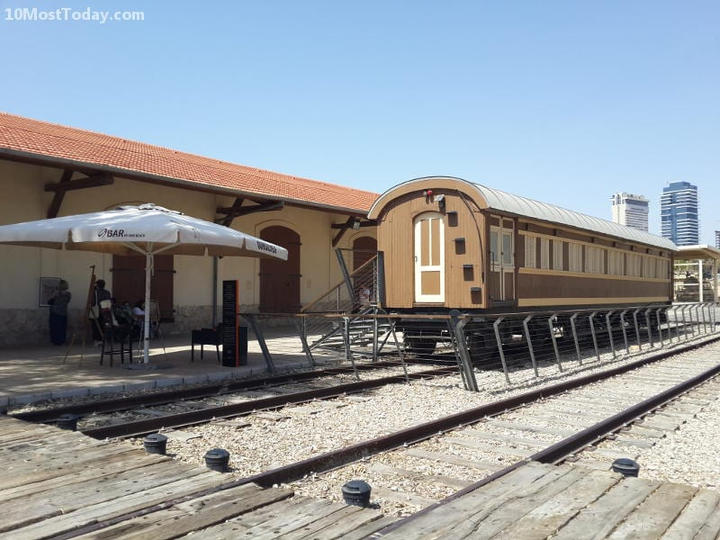 Best Attractions In Tel Aviv: The Jaffa Railway Station (haTachana)