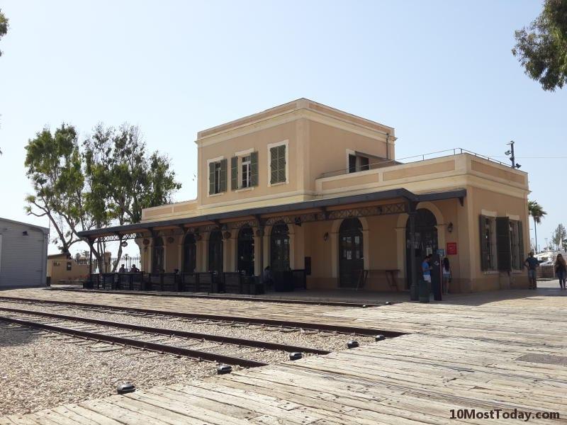 Best Attractions In Tel Aviv: The Jaffa Railway Station (haTachana)
