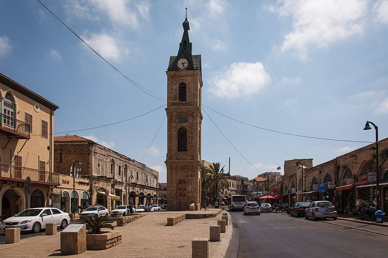 Best Attractions In Tel Aviv: The Clock Tower in Old Jaffa