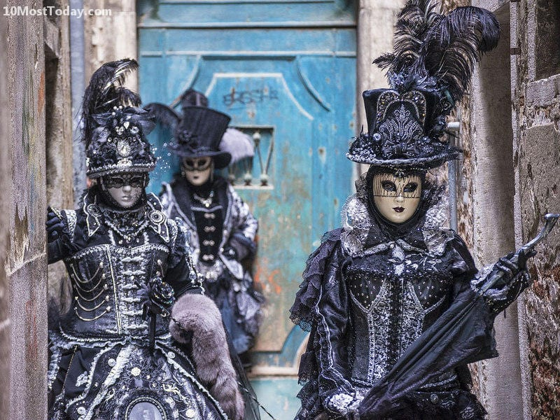 Annual World Festivals Worth The Trip: Carnival of Venice