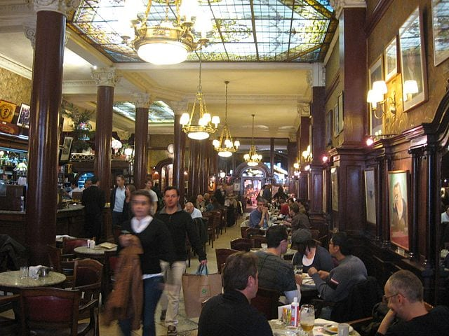 Best Attractions In Buenos Aires: Café Tortoni