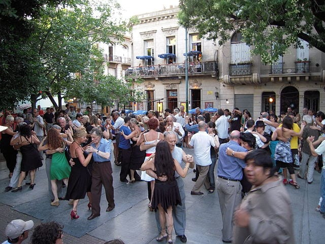 Best Attractions In Buenos Aires: Tango dancing at Plaza Dorrego