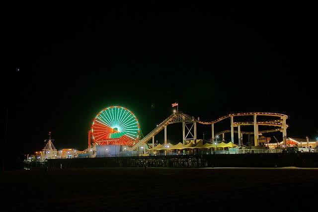 Best Attractions In Los Angeles: Santa Monica Pier