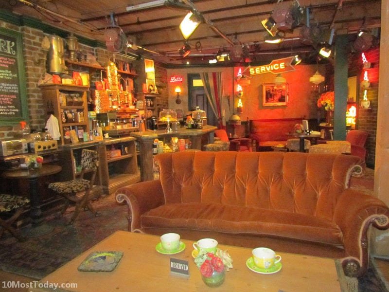 The set of Central Perk from Friends. Seen on the Warner Brothers tour