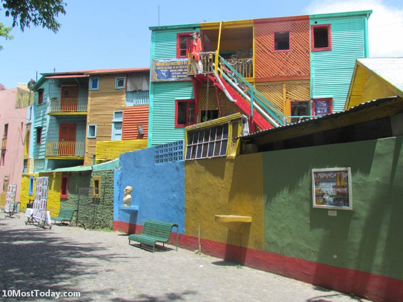 Most Colorful Places: La Boca, Buenos Aires, Argentina