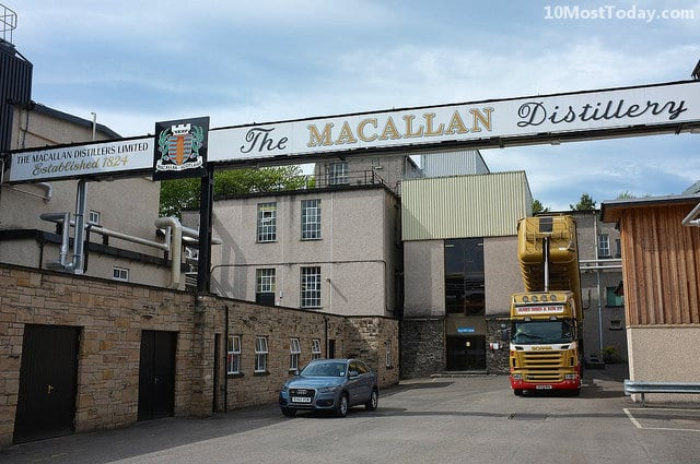Best Whisky Distillery Tours In The World: The Macallan Distillery