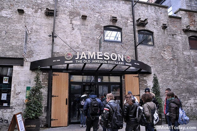 Best Whisky Distillery Tours In The World: The Old Jameson Distillery