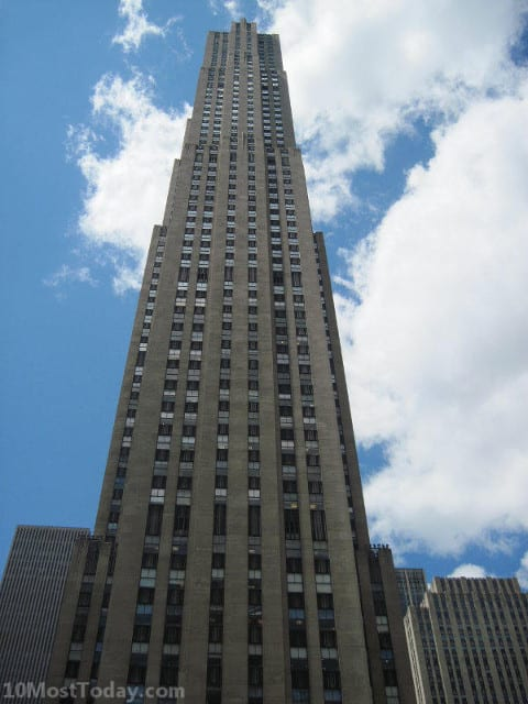 Pilgrimage Sites For TV Lovers: 30 Rockefeller Plaza, New York City