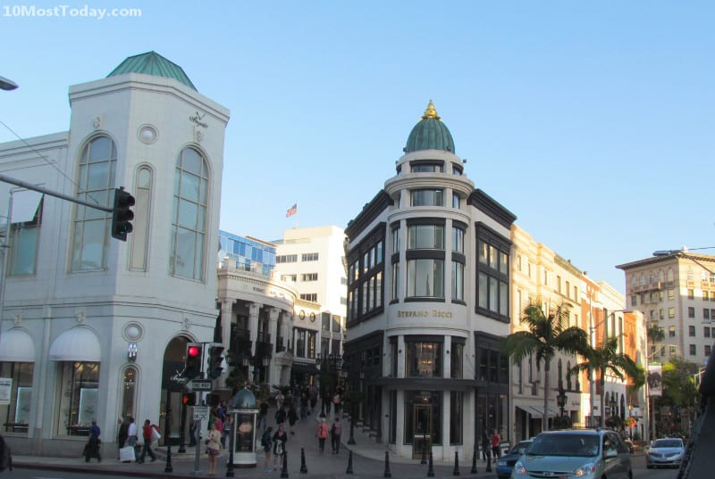 Best Attractions In Los Angeles: Rodeo Drive