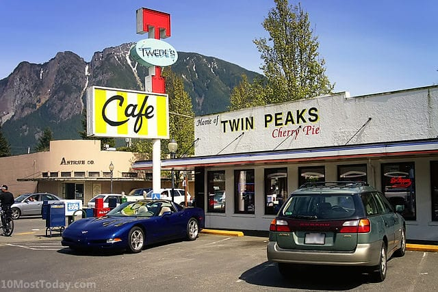 Pilgrimage Sites For TV Lovers: Twede's Café, North Bend, Washington