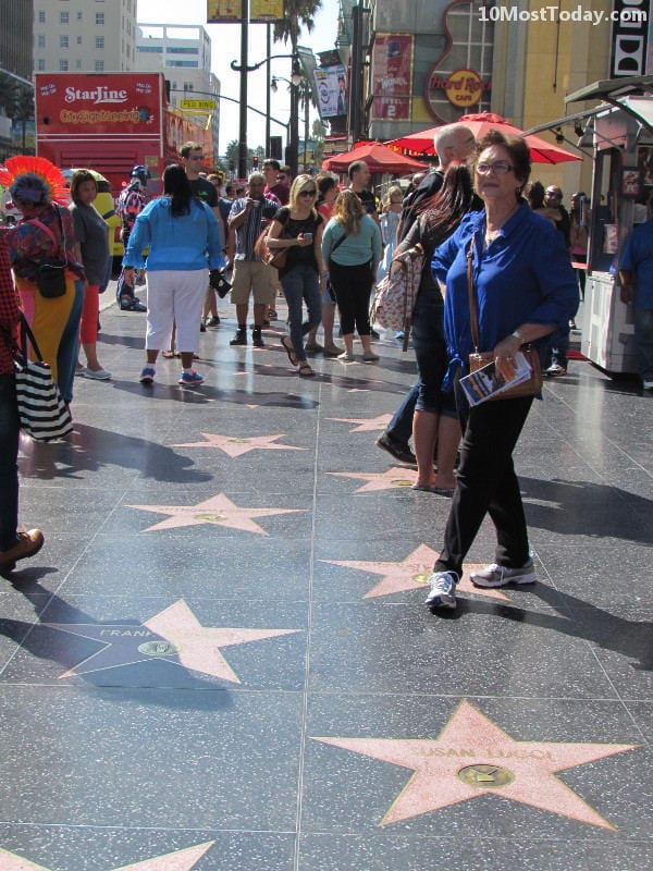 Best Attractions In Los Angeles: Hollywood Walk of Fame