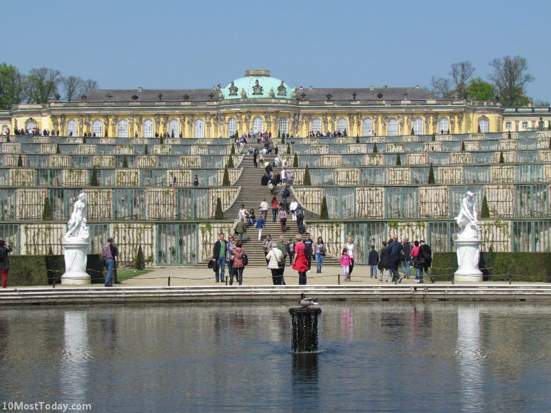 The Sanssouci Palace, Potsdam, Germany