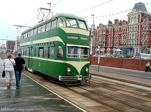10 Tram Systems Worth The Ride: Blackpool, England