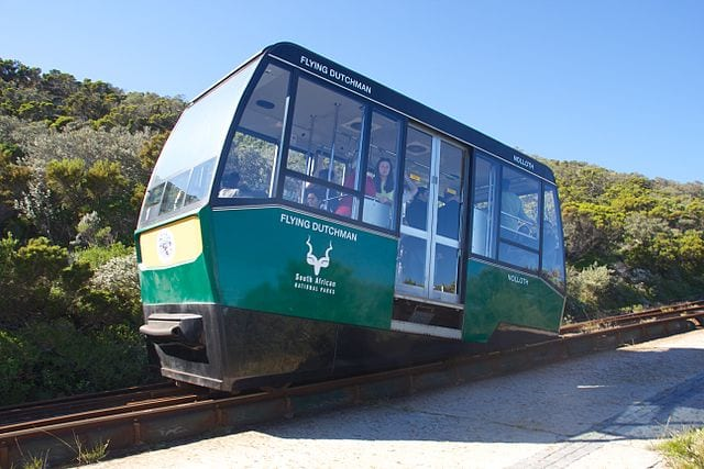 Best Funiculars In The World: Flying Dutchman Funicular, South Africa