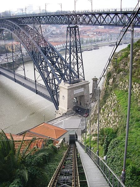 Best Funiculars In The World: Funicular dos Guindais, Porto