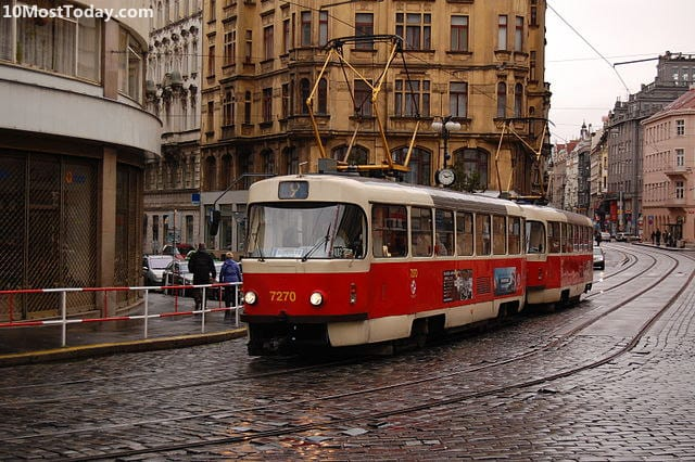 10 Tram Systems Worth The Ride: Prague, Czech Republic