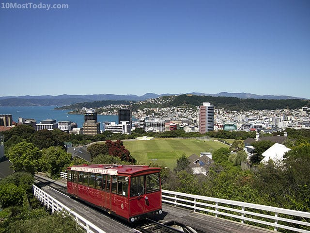 Best Funiculars In The World: Wellington Cable Car, Wellington