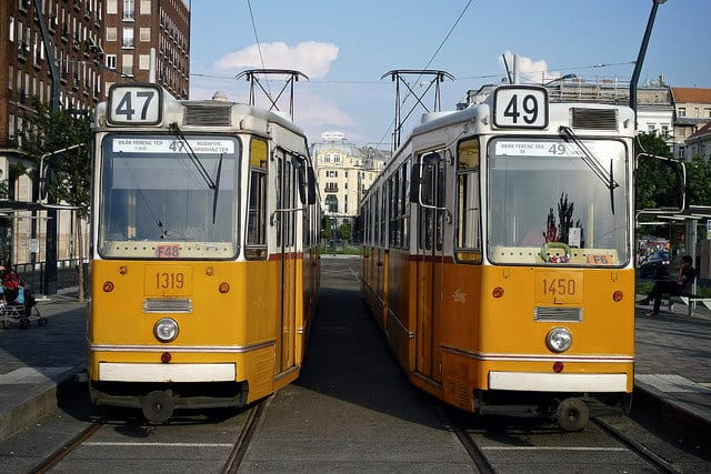 10 Tram Systems Worth The Ride: Budapest, Hungary
