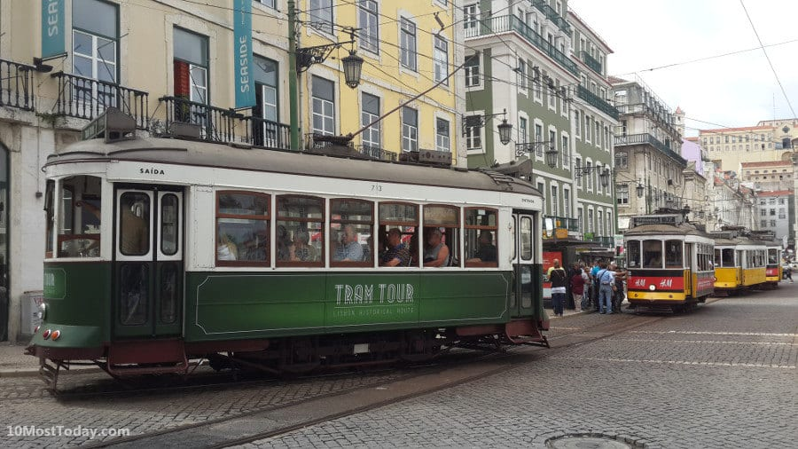 10 Tram Systems Worth The Ride: Lisbon, Portugal