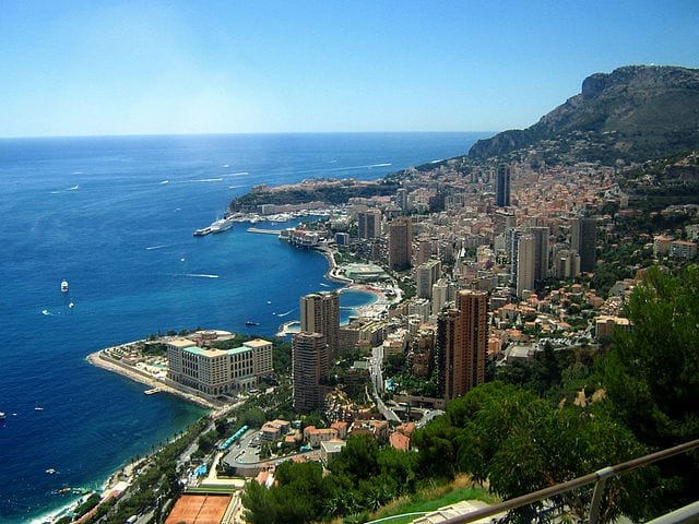 Monaco. Home to Monte Carlo - one of the best gambling destinations in the world