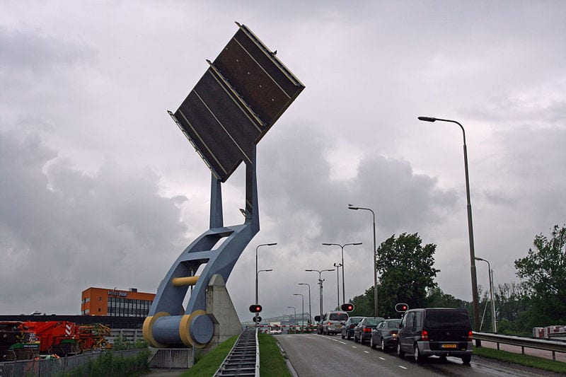 Most Amazing Drawbridges In The World: Slauerhoffbrug