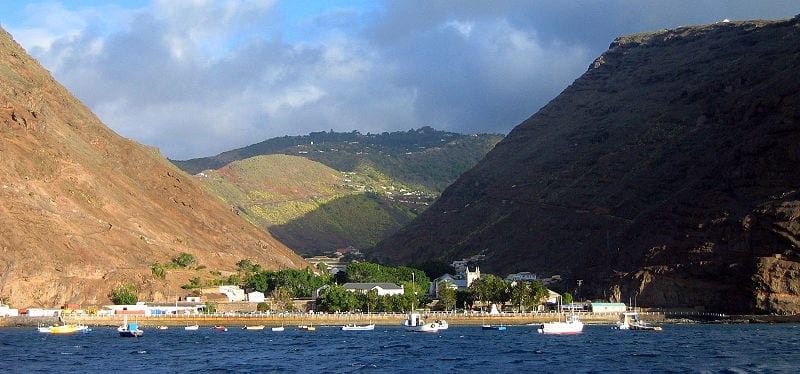Fascinating Microclimates From Around The World: Saint Helena island