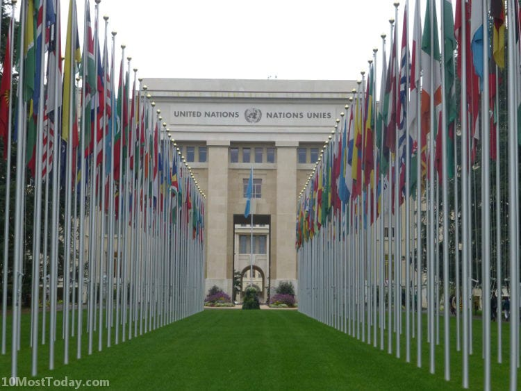 Best Attractions In Geneva: Palais des Nations