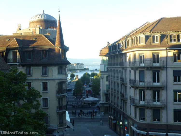 Best Attractions In Geneva: The old town