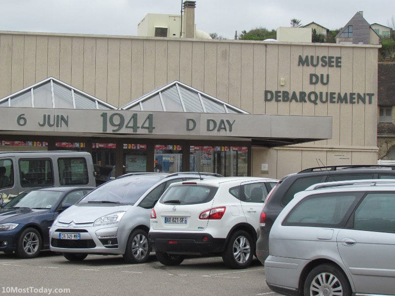 Recommended Landmarks in Normandy: D-day Museum in Arromanches