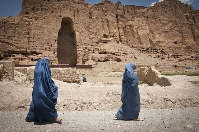 10 Monuments Destroyed By War: Buddhas of Bamiyan
