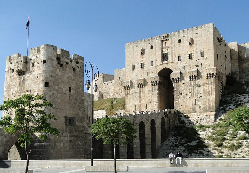 10 Monuments Destroyed By War: Citadel of Aleppo