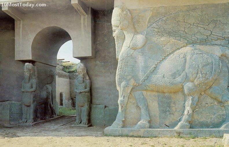 10 Monuments Destroyed By War: Nimrud