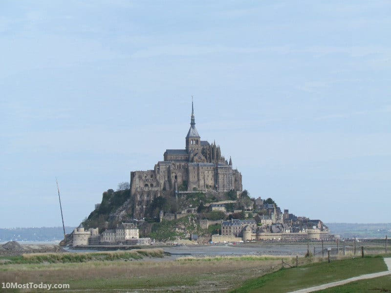 10 Best Attractions In Normandy: Mont Saint Michel
