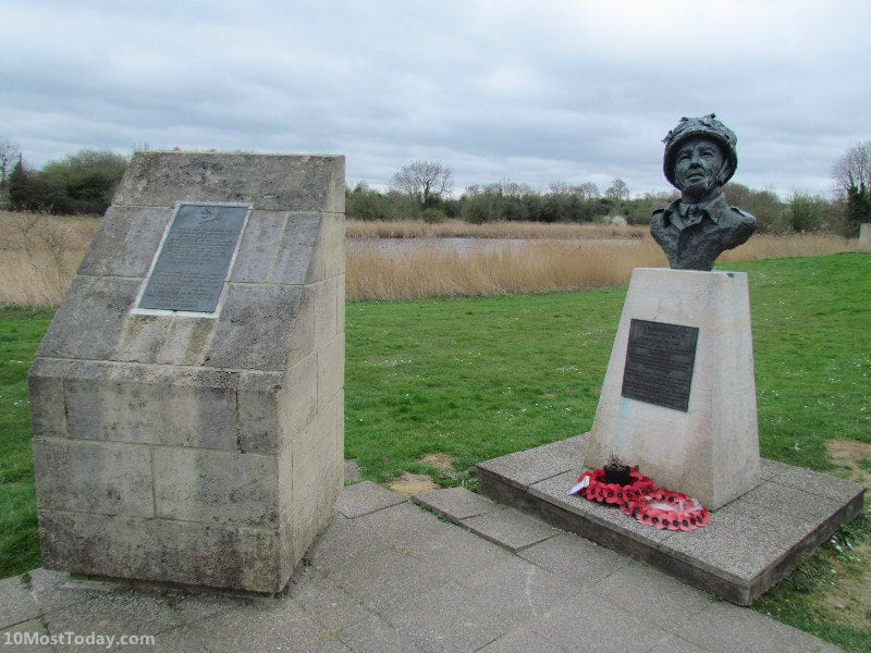 Recommended Landmarks in Normandy: The memorial next to the Pegasus Bridge