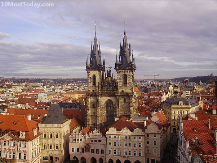 Best Attractions In Prague: Týn Cathedral