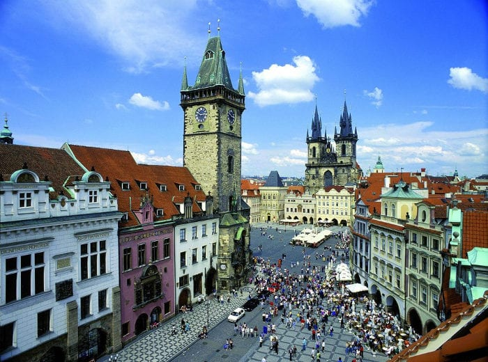 Best Attractions In Prague: Charles Bridge: Old Town Square