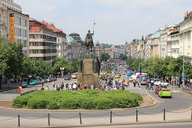 Best Attractions In Prague: Wenceslas Square