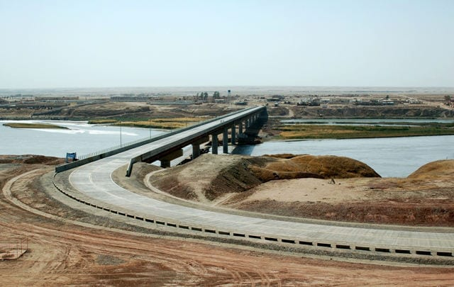 Bridges That Cross International Borders: Tajikistan-Afghanistan bridge, Tajikistan and Afghanista