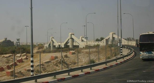 Bridges That Cross International Borders: Allenby Bridge (King Hussein Bridge), Israel and Jordan