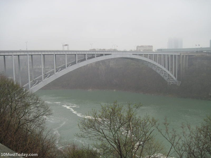 Bridges That Cross International Borders: Rainbow Bridge, United States and Canada